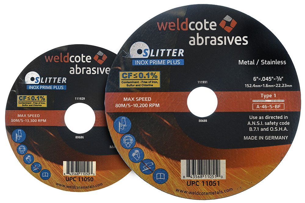 right-angle-grinder-wheels,-cutting-slitter-inox-prime-plus, resin-bonded-abrasives