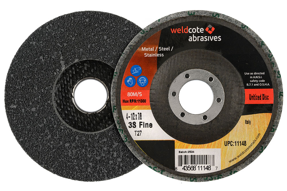 unitized-right-angle-grinder-wheels, surface-conditioning